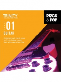 Trinity Rock & Pop Guitar Grade 1 From 2018 (CD ONLY)