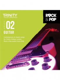 Trinity Rock & Pop Guitar Grade 2 From 2018 (CD ONLY)