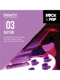 Trinity Rock & Pop Guitar Grade 3 From 2018 (CD ONLY)