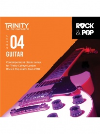 Trinity Rock & Pop Guitar Grade 4 From 2018 (CD ONLY)
