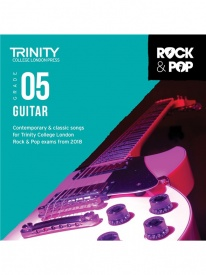 Trinity Rock & Pop Guitar Grade 5 From 2018 (CD ONLY)