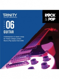 Trinity Rock & Pop Guitar Grade 6 From 2018 (CD ONLY)