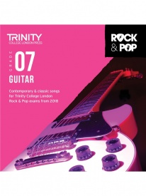 Trinity Rock & Pop Guitar Grade 7 From 2018 (CD ONLY)