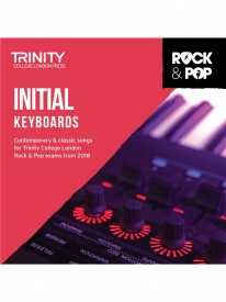 Trinity Rock & Pop Keyboards Initial Grade From 2018 (CD ONLY)