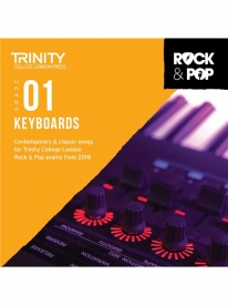 Trinity Rock & Pop Keyboards Grade 1 From 2018 (CD ONLY)