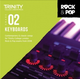 Trinity Rock & Pop Keyboards Grade 2 From 2018 (CD ONLY)
