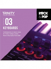 Trinity Rock & Pop Keyboards Grade 3 From 2018 (CD ONLY)