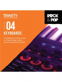Trinity Rock & Pop Keyboards Grade 4 From 2018 (CD ONLY)