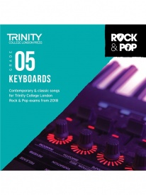 Trinity Rock & Pop Keyboards Grade 5 From 2018 (CD ONLY)