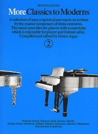 More Classics To Moderns 2 for Piano published by York