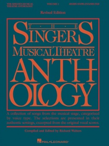 Singers Musical Theatre Anthology 1 Mezzo Soprano published by Hal Leonard