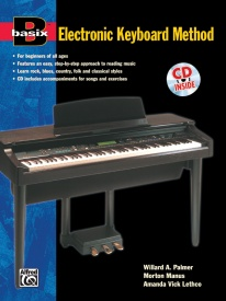 Basix: Electronic Keyboard Method Book & CD published by Alfred