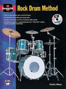 Basix: Rock Drum Method Book & CD published by Alfred