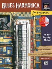 Blues Harmonica for Beginners Book & CD published by Alfred