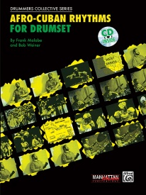 Afro-cuban Rhythms For Drumset Book & CD published by Alfred