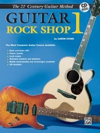 21st Century Guitar Rock Shop 1 Book & CD published by Alfred