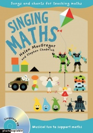 Singing Maths Book & CD published by Collins