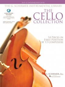 The Cello Collection - Easy/Intermediate Book & CD published by Schirmer
