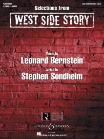 Bernstein: Selections from West Side Story for Piano Duet published by Boosey & Hawkes