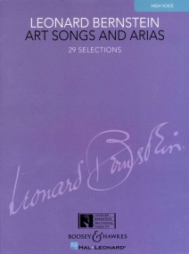 Bernstein: Art Songs and Arias for High Voice published by Boosey and Hawkes