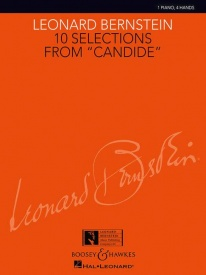 10 Selections from Candide for Piano Duet by Bernstein published by Boosey & Hawkes