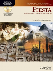 Fiesta for Trumpet or Euphonium Book & CD published by Curnow