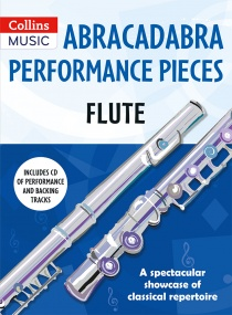 Abracadabra Performance Pieces - Flute Book & CD published by Collins