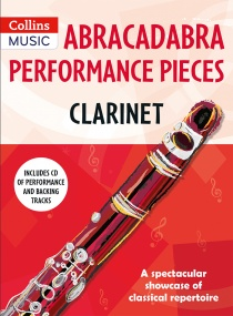 Abracadabra Performance Pieces - Clarinet Book & CD published by Collins