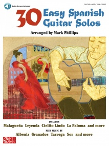 30 Easy Spanish Guitar Solos published by Cherry Lane (Book/Online Audio)