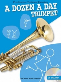 A Dozen A Day Book & CD for Trumpet published by Willis