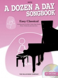 A Dozen A Day Songbook: Easy Classical - Mini Book & CD for Piano published by Willis