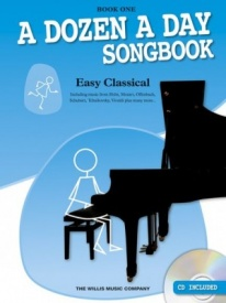 A Dozen A Day Songbook: Easy Classical - 1 Book & CD for Piano published by Willis
