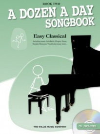 A Dozen A Day Songbook: Easy Classical - 2 Book & CD for Piano published by Willis
