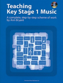 Teaching Key Stage 1 Music Book & CD by Bryant published by Faber
