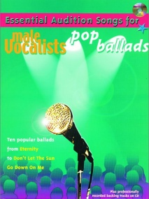 Essential Audition Songs Male : Pop Ballads Book & CD published by IMP