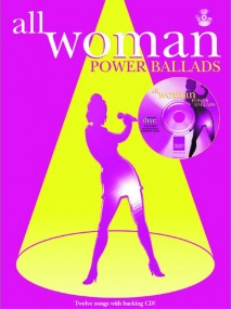 All Woman Power Ballads Book & CD published IMP