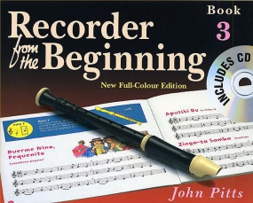 Recorder from the Beginning 3 Pupil Book & CD published by E J A