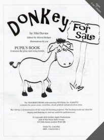 Donkey For Sale (Pupil's Book) published by Golden Apple Productions