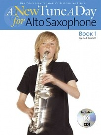 A New Tune a Day for Alto Saxophone 1 Book & CD published by Boston