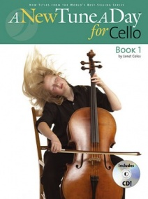 A New Tune a Day 1 for Cello published by Boston (CD Edition)