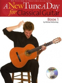A New Tune a Day Book 1 for Classical Guitar Book & CD published by Boston