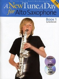 A New Tune a Day for Alto Saxophone DVD Edition published by Boston