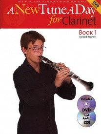 A New Tune a Day Book 1 (DVD Edition) for Clarinet published by Boston