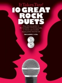 It Takes Two -10 Great Rock Duets Book & CD published by Wise
