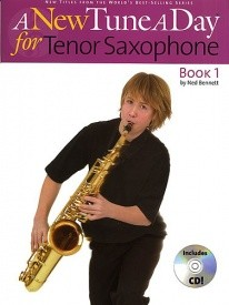 A New Tune a Day for Tenor Saxophone 1 Book & CD published by Boston