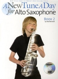 A New Tune a Day for Alto Saxophone 2 Book & CD published by Boston