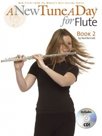 A New Tune a Day Book 2 with CD for Flute published by Boston
