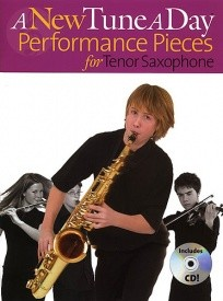 A New Tune A Day: Performance Pieces for Tenor Saxophone 1 Book & CD published by Boston