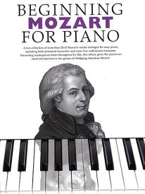 Beginning Mozart For Piano published by Boston