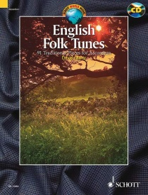 English Folk Tunes for Accordion Book & CD published by Schott
